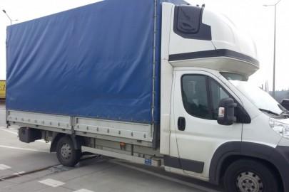 Citroën Jumper z 600 kg ponad DMC i 200 zł mandatu