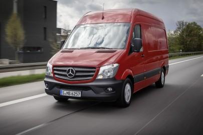 Mercedes Sprinter z Euro 6 i mocniejszymi dieslami
