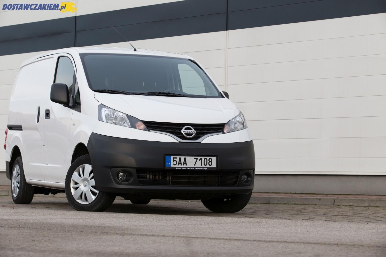 W superbly Test Nissan NV200 1.5 dCi - mały van z dużą paką KY05