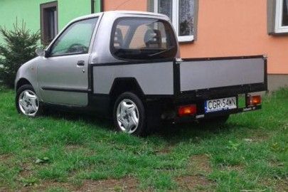 Fiat Seicento pick-up do kupienia za 2 000 złotych
