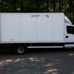 Iveco Daily miało tylko 350 kg ładowności, ale wzięło 3,6 tony towaru