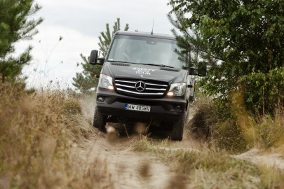 Safety on Tour 4×4 2016 – elitarne testy dla klientów Mercedesa
