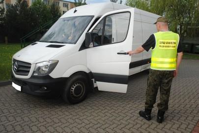 Sprinter skradziony w Luksemburgu odnalazł się w Polsce