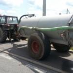 Jechał traktorem po drodze ekspresowej S7
