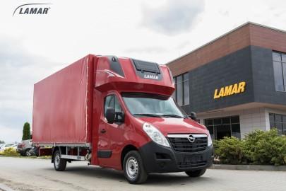 Opel Movano z certyfikowanymi zabudowami od firmy Lamar