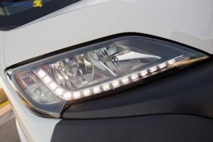 Światła do jazdy dziennej LED to opcja, która wymaga dopłaty 650 złotych netto/799 brutto.