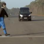 Ford Transit i Transit Custom z nowym systemem Pre-Collision Assist