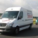 Skradziony w Niemczech Sprinter odnalazł się w Polsce