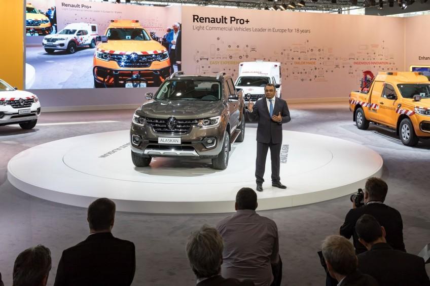 IAA 2016: Renault Alaskan z zabudowami specjalnymi