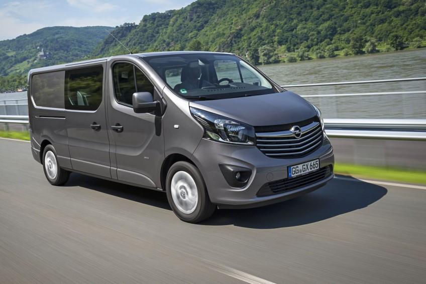 Opel Vivaro B – w Polsce do serwisów trafi 394 egzemplarzy