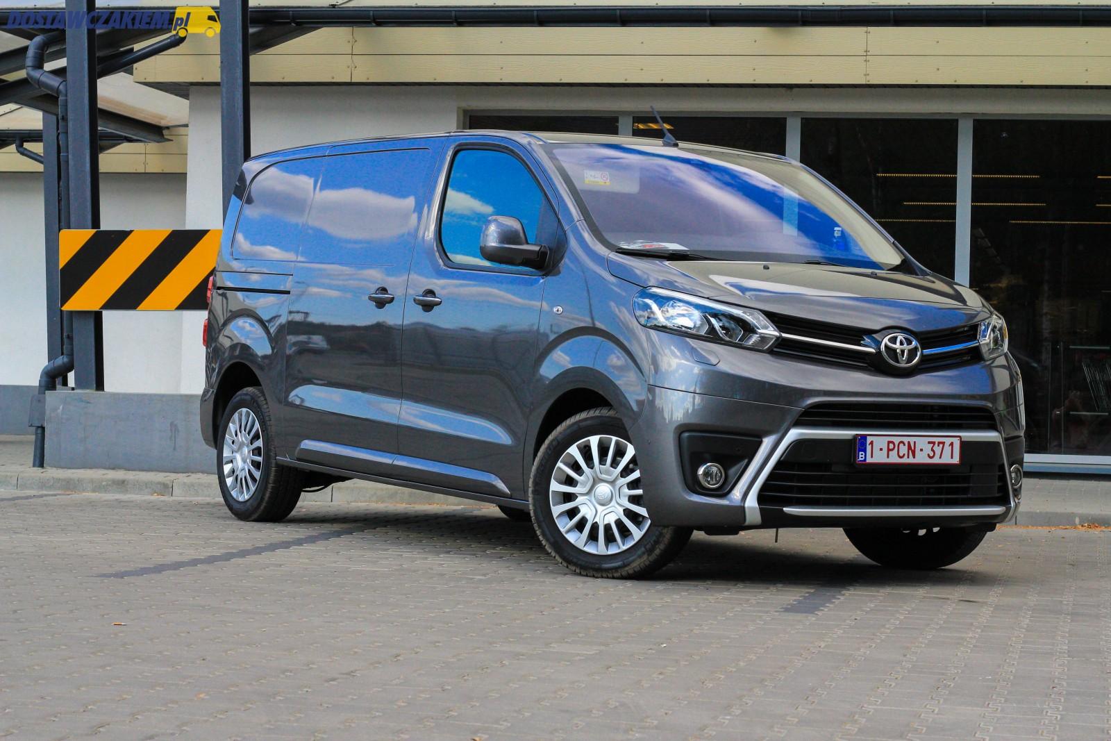 Test Toyota ProAce 2.0 D-4D 150 KM furgon w wersji Medium