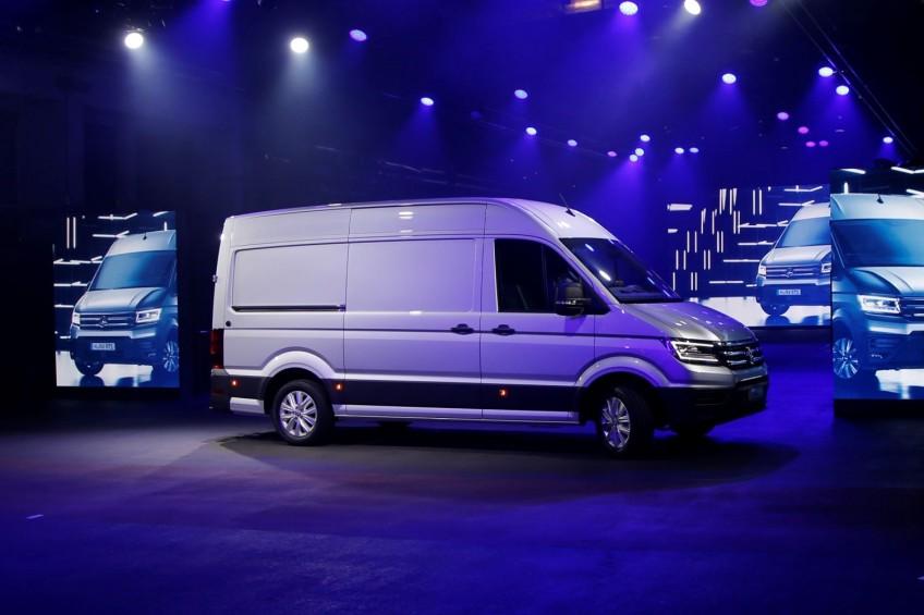 Volkswagen Crafter Samochodem Dostawczym Roku 2017!