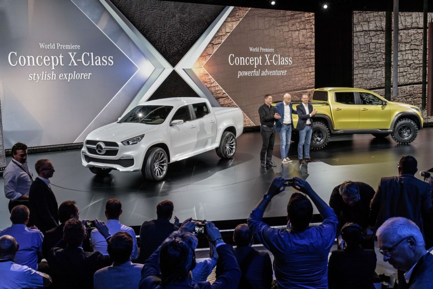 Mercedes-Benz X-klasa – koncepcyjny pick-up zaprezentowany