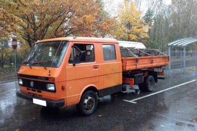 VW LT 55 – w dowodzie 3,5 tony DMC, a na wadze 7,5 tony