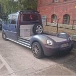 VW T4 z podwójną kabiną i tyłem od New Beetle