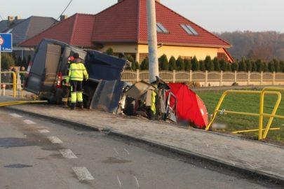 Śmiertelny wypadek w Brzegu – kierowca Ducato miał 3 promile