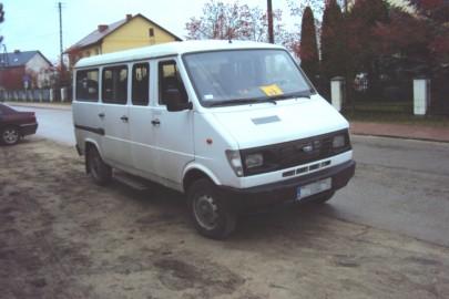 Dostawcze Daewoo Lublin robiło za szkolny autobus