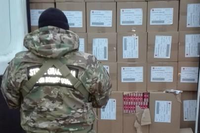 Konwój busów z kontrabandą papierosów za 930 000 złotych (FILM)