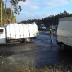 Przeładowane rumuńskie busy zatrzymane przez ITD