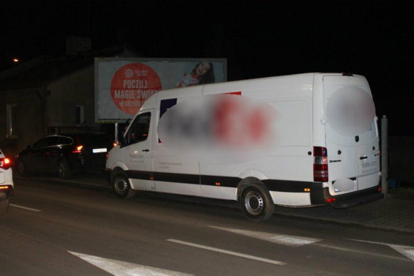 Kalisz: kierowca Sprintera mając 4 promile spowodował kolizję
