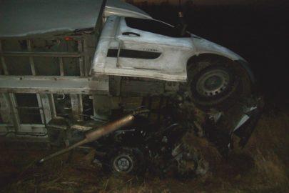 Renault Master wjechało do rowu – kierowca trafił do szpitala