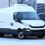 Konwersja furgonu na chłodnię – kolejna zabudowa firmy D.A.C.