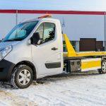 Renault Master z hydrauliczną platformą od firmy TEVOR