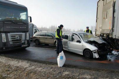 Wypadek na A1 pod Piotrkowem – największy karambol w historii Polski