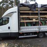 Iveco Daily ważyło 7,5 tony, drugi bus miał popękaną ramę