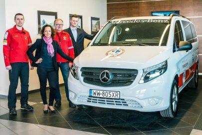 Mercedes Vito Tourer 4×4 dla Fundacji GOPR
