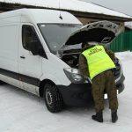 Sprinter skradziony w Wielkiej Brytanii odnalazł się w Augustowie