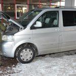Volkswagen Multivan odzyskany przez Straż Graniczną