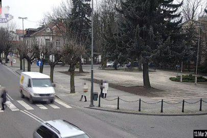 Lubartów: Sprinterem wyprzedzał pod prąd i na pasach (wideo)