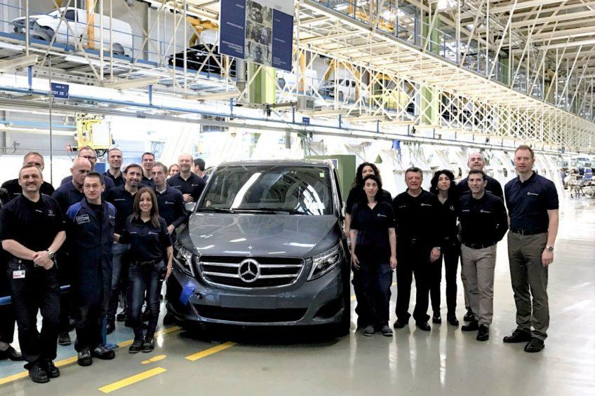 Mercedes-Benz V-klasa – wyprodukowano 100 000 egzemplarzy