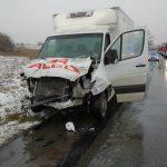 Nissanem Micrą w Mercedesa Sprintera – kobieta zginęła na miejscu