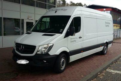 Skradziony w Niemczech Sprinter zatrzymany na DK nr 2