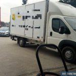 Skradziony z wypożyczalni Peugeot Boxer odzyskany