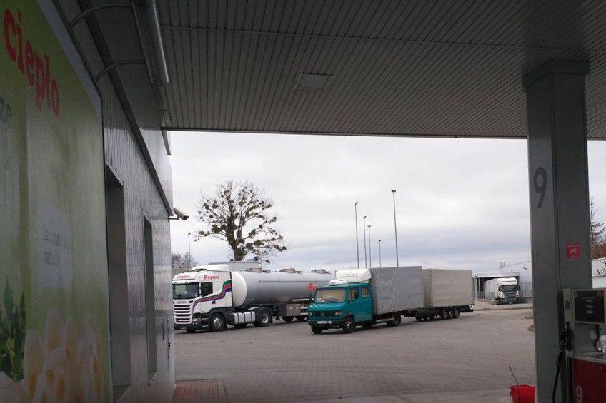 Transport międzynarodowy po białorusku – zdjęcia od Czytelnika
