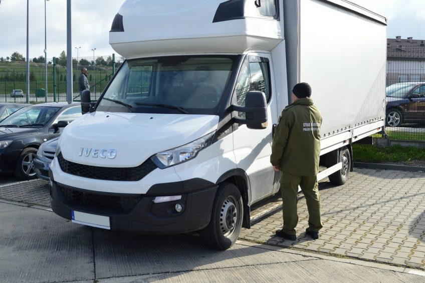 Kolejne Iveco Daily odzyskane przez Straż Graniczną