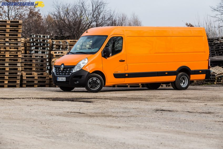 Test: Renault Master 2.3 dCi 165 – L4H2 na bliźniakach (wideo, zdjęcia)