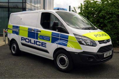 Hybrydowy Ford Transit Custom dla londyńskiej policji
