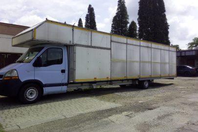 Renault Master z Krosna z bardzo długą zabudową – zdjęcia od Pawła