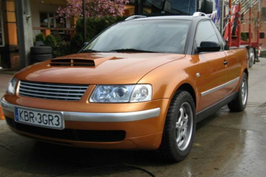 Volkswagen Passat B5 jako pick-up z napędem 4×4