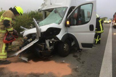 Wypadek polskiego busa na niemieckiej A9 – 7 osób rannych