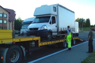 Łotewscy busiarze też potrafią – Renault Mascott ważyło 8,6 tony