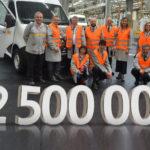 2 500 000 pojazdów użytkowych z fabryki Renault w Batilly