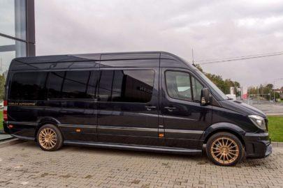 Mercedes Sprinter JetVan do kupienia za 690 000 złotych