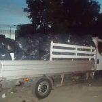 Wyrzucał śmieci na Żoliborzu – na skrzyni Iveco Daily było 300 worków