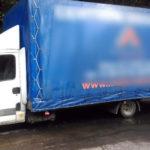 24 palety z towarem na pace Iveco Daily – bus ważył ponad 8 ton