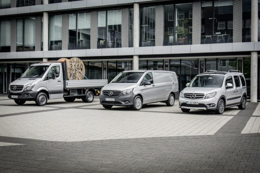 Mercedes-Benz Vans – rekordowa sprzedaż w I połowie 2017 roku